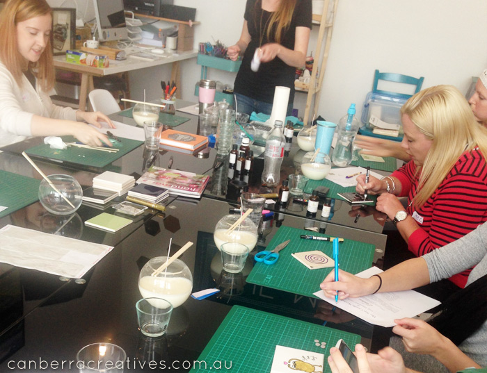 candle workshop canberra