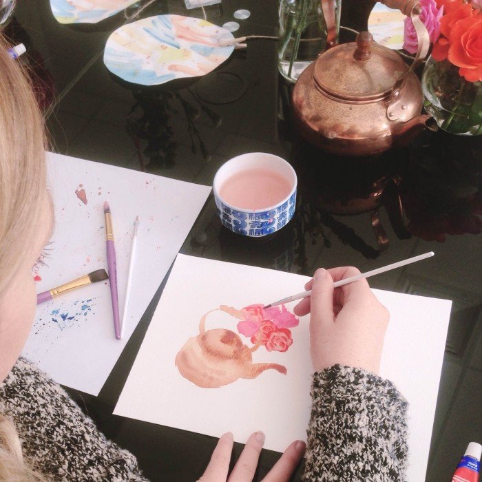 Watercolour Painting Workshop Canberra