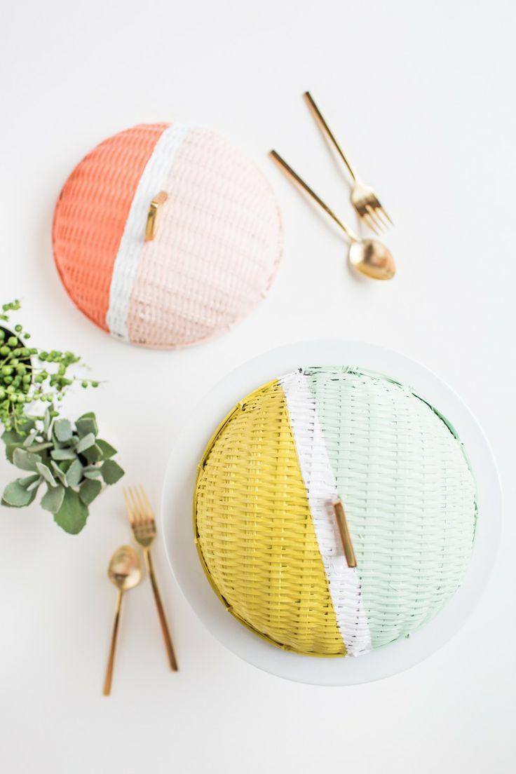 colourblock food dome