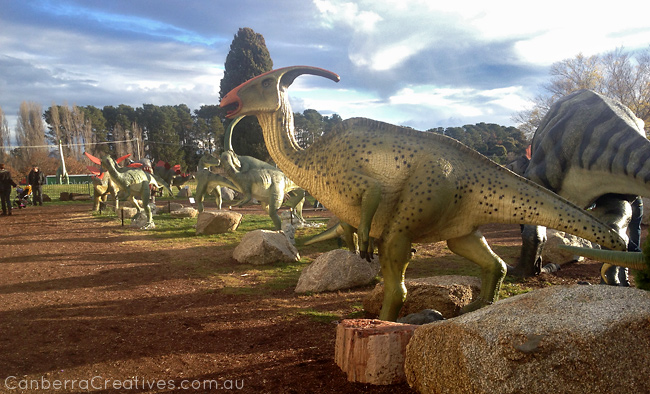 canberra creative kids party dinosaur museum