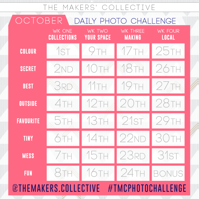The Makers' Collective Daily Photo Challenge