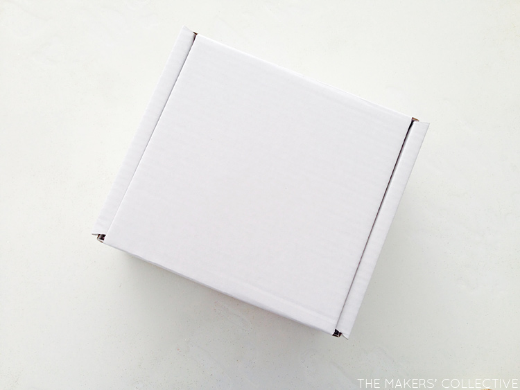 The Makers' Box Monthly Project Kit Packaging