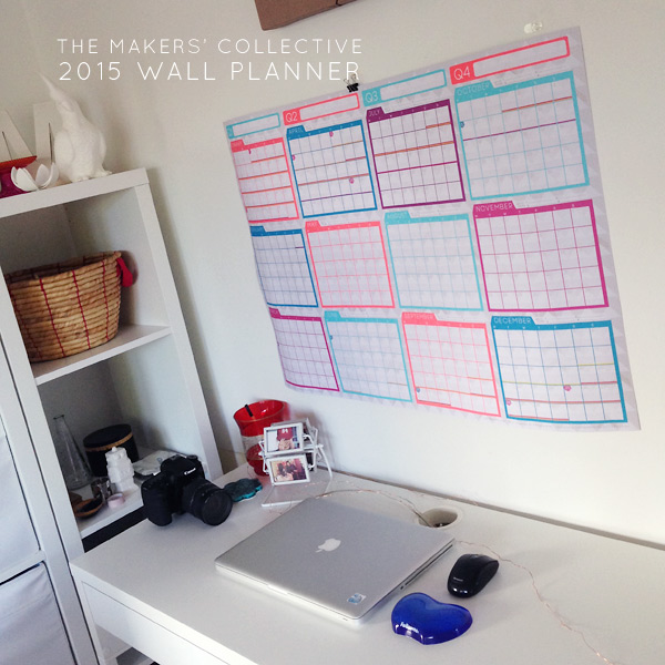 The Makers' Co 2015 Wall Planners have arrived!