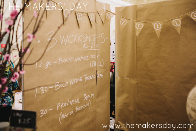 The Makers Day Canberra interactive making market