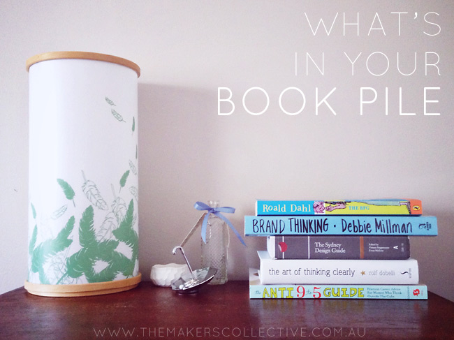 What's in your book pile - blog link up