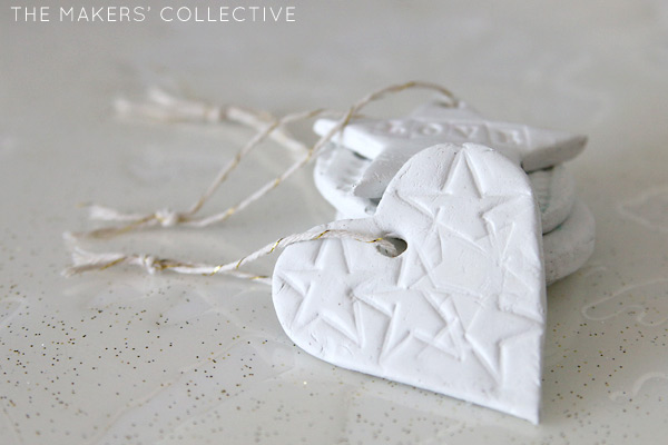 DIY Clay christmas ornaments decorations