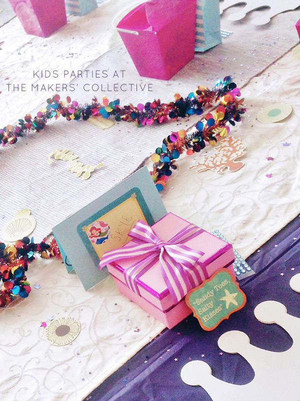 Mermaid Themed Kids Party At The Makers Hub Canberra - Childrens birthday party ideas canberra