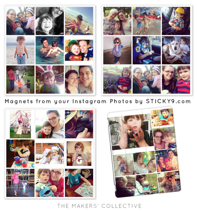 Printed Instagram Magnets