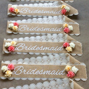 Etsy seller handmade business sash
