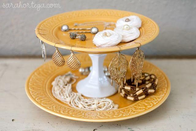 cake stand jewellery