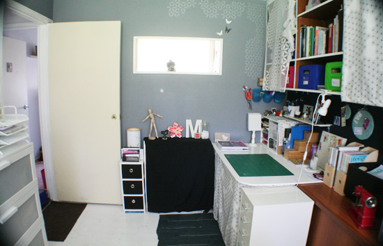 DIY Office to Nursery Makeover