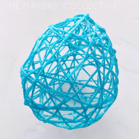 DIY Decorative Yarn Balls Tutorial