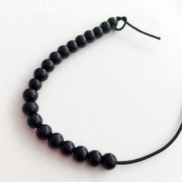 DIY tassel bracelet craft project tutorial