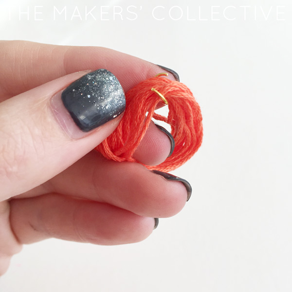 DIY tassel bracelet craft project tutorial