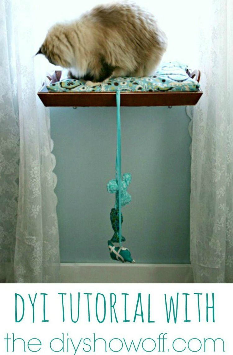 DIY Kitty Perch
