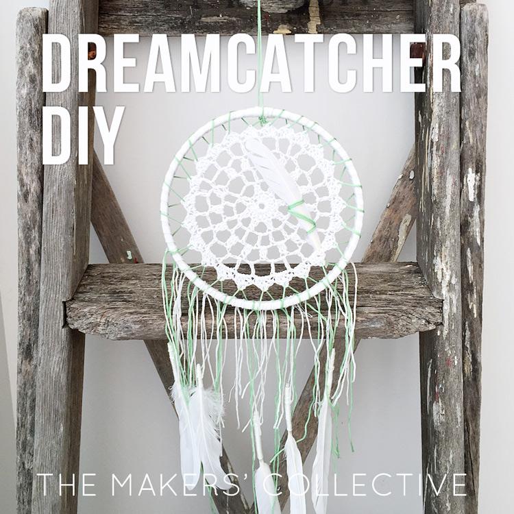 DIY dreamcatcher project