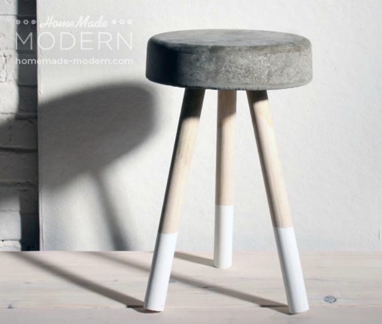 DIY bucket stool