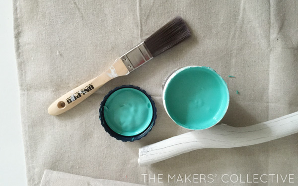 MINT nursery makeover feature colour