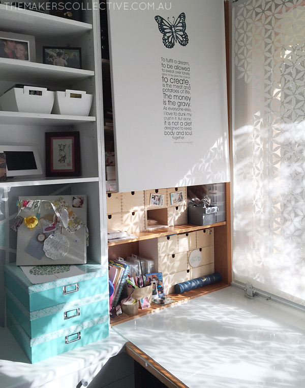 DIY Nursery Makeover grey and mint styling
