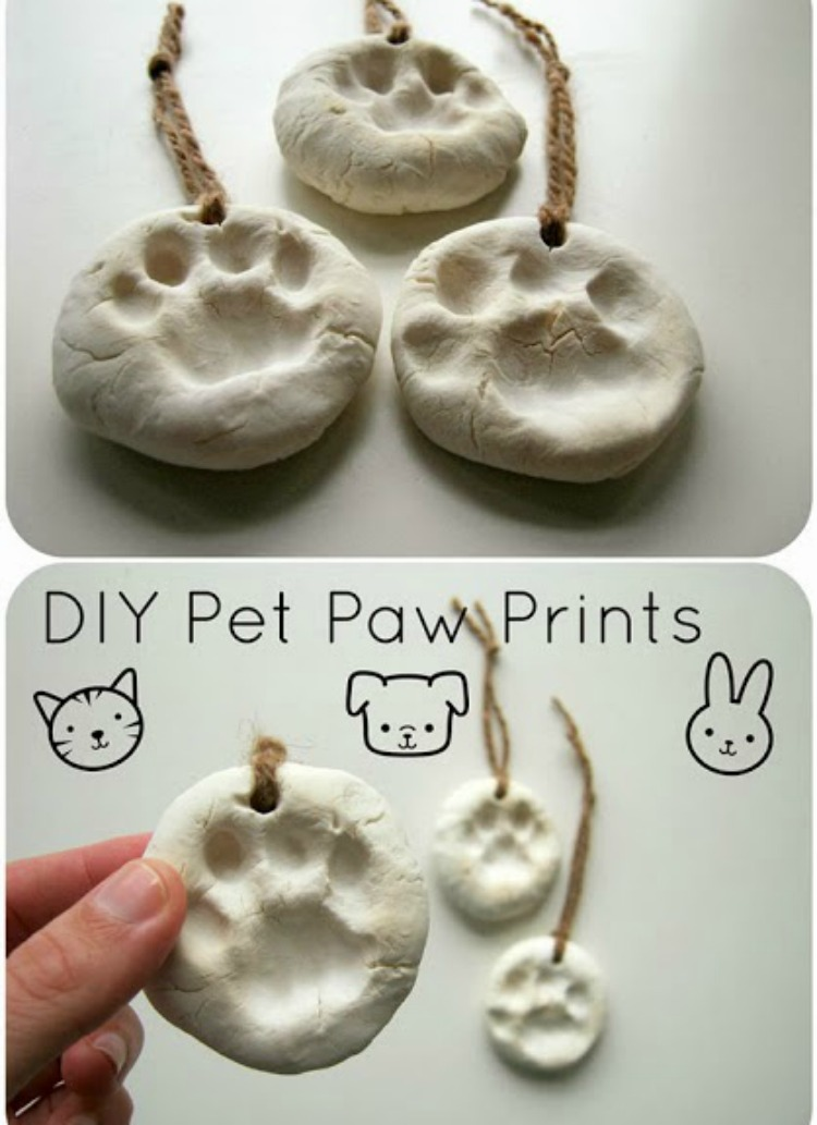 DIY Clay Paws