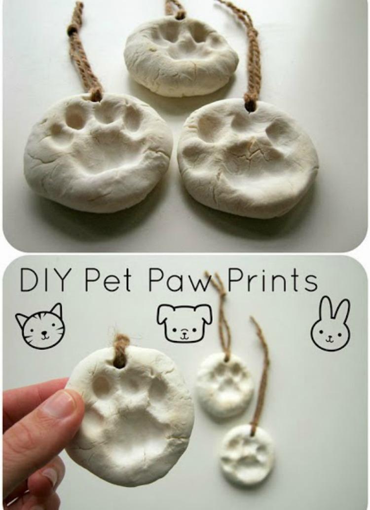 DIY Clay Paws