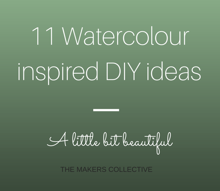 11 watercolour DIYs
