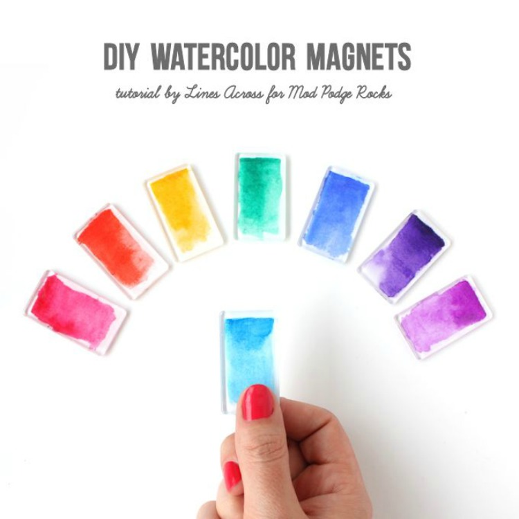 DIY-Watercolor-Magnets-@linesacross