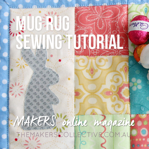 Mug Rug sewing tutorial