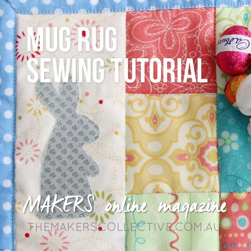 Mug Rug sewing tutorial