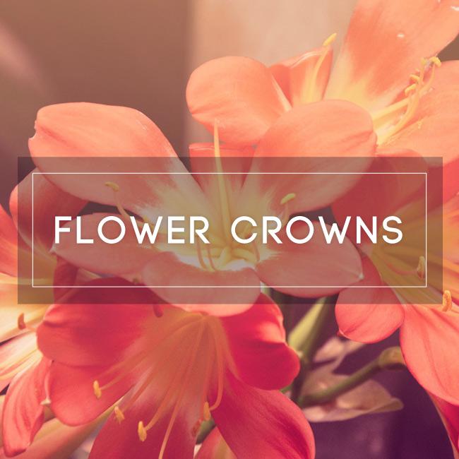 Flower Crowns Workshop