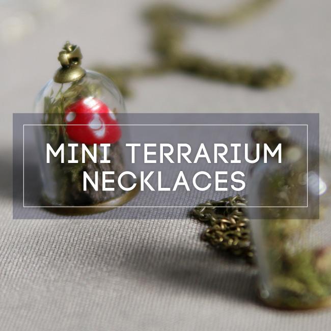 Terrarium Necklaces Workshop