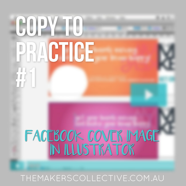 Copy to Practice in Adobe Illustrator