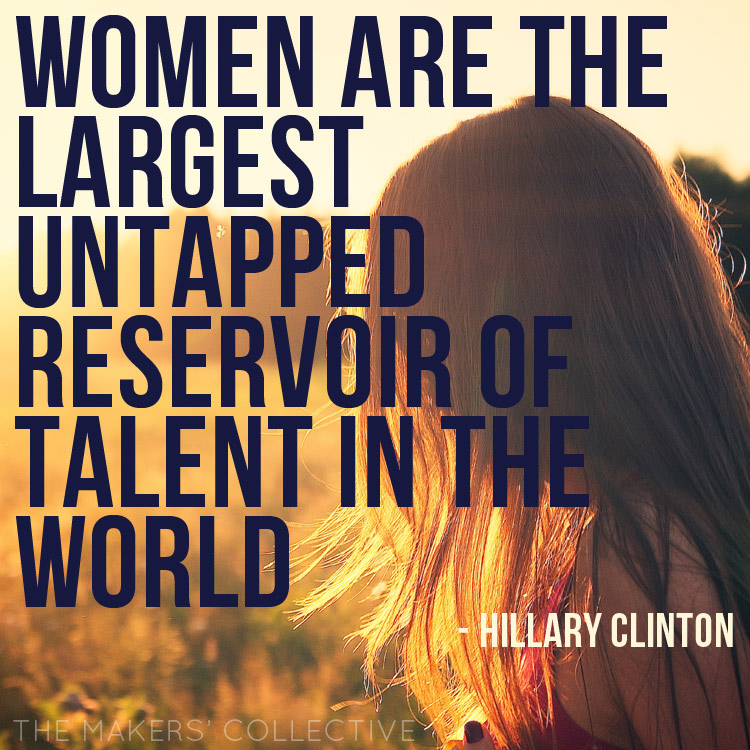 women-untapped-talent clinton quote