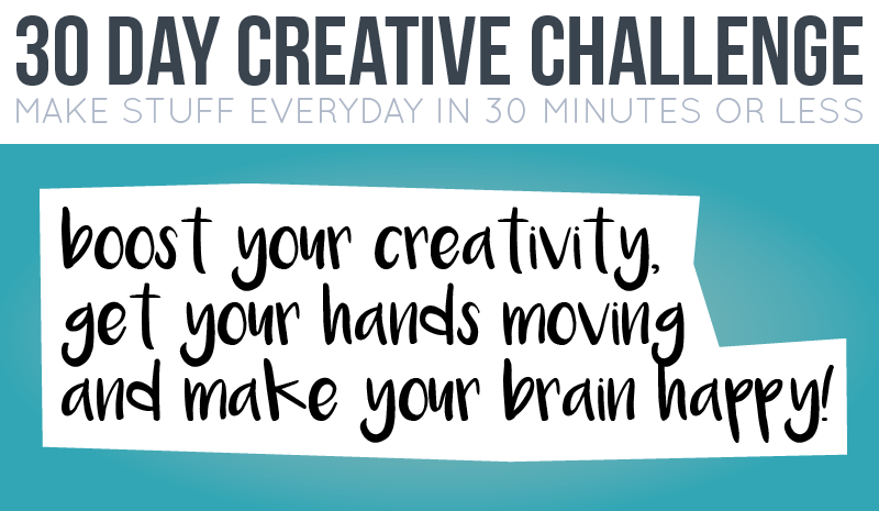 boost your creativity, make your brain happy!