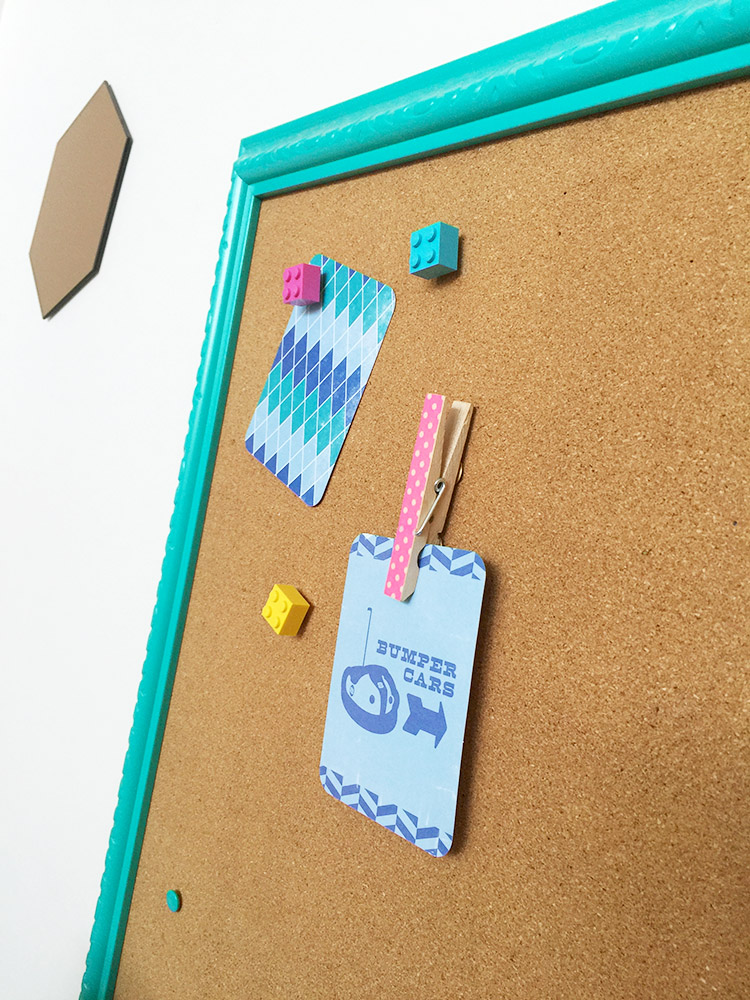 creative-challenge washi tape pegs