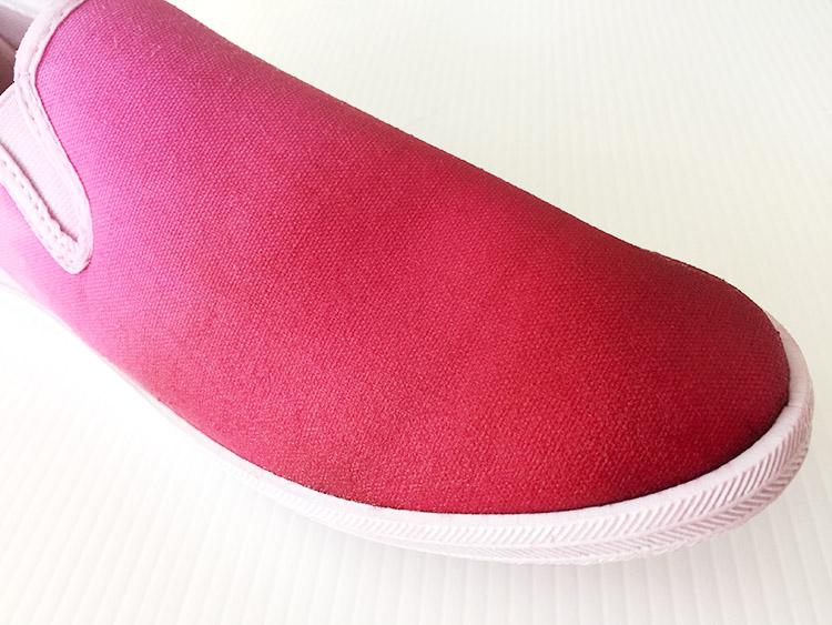 creative-challenge dip dye shoe