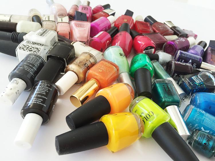 nail polish creative challenge