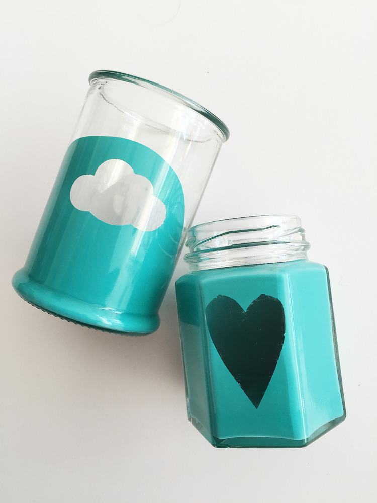 painted jars creative challenge
