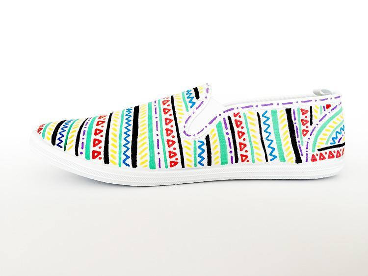 creative challenge custom shoes