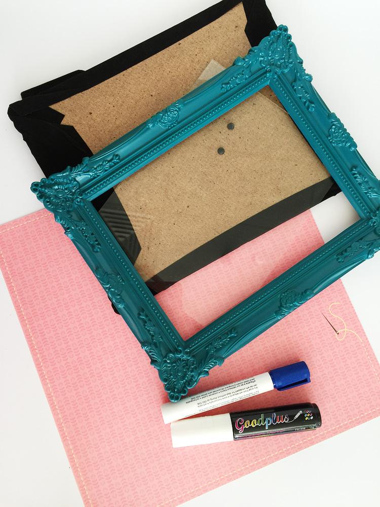 dry erase frame creative challenge