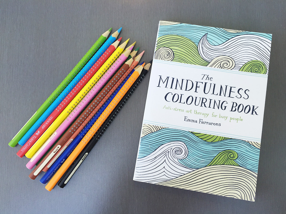 colouring in pages creative challenge