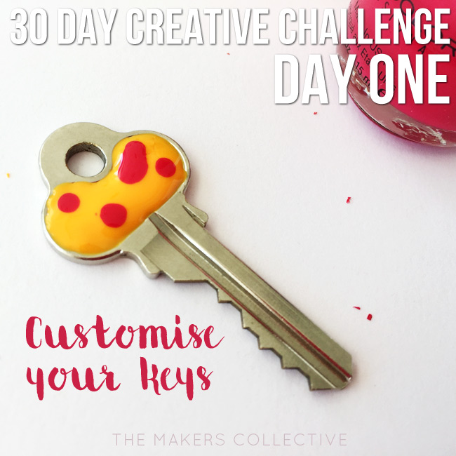 creative challenge customise-your-keys