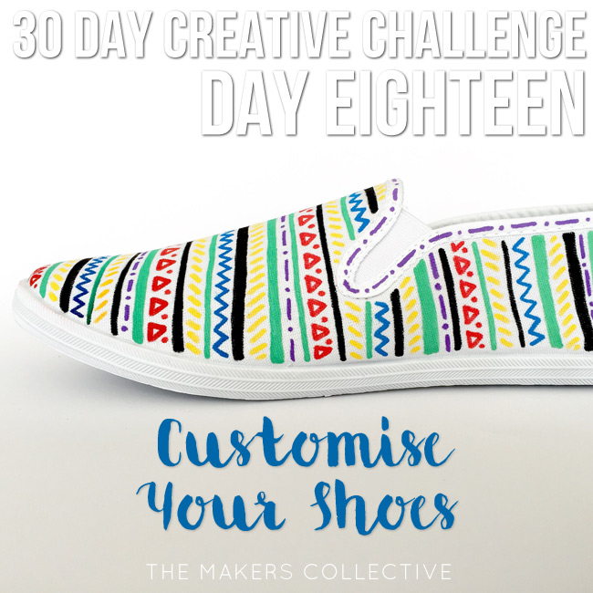 creative challenge custom shoes
