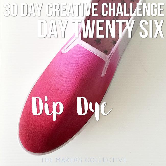 creative challenge dip-dye