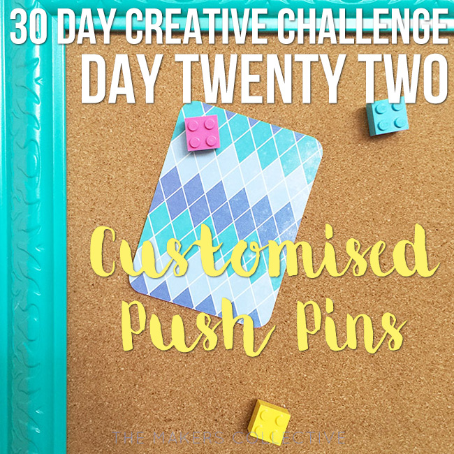 creative challenge push-pins