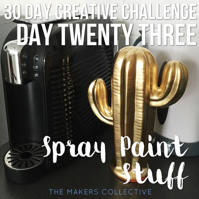 creative challenge spray-paint-stuff