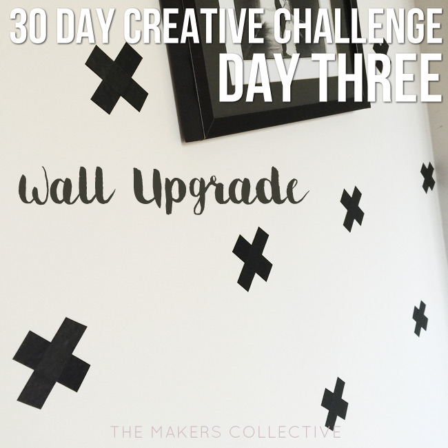creative challenge wall-upgrade