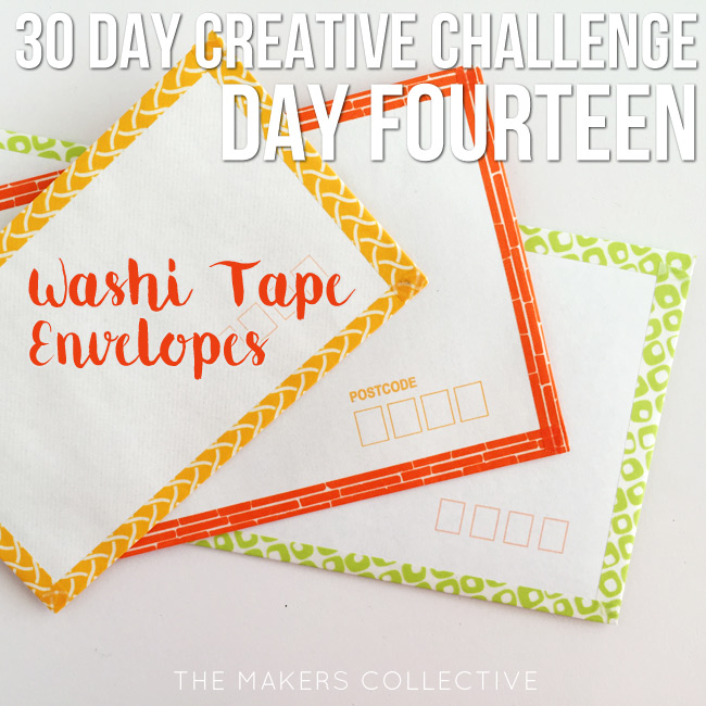 creative challenge washi-tape-envelopes