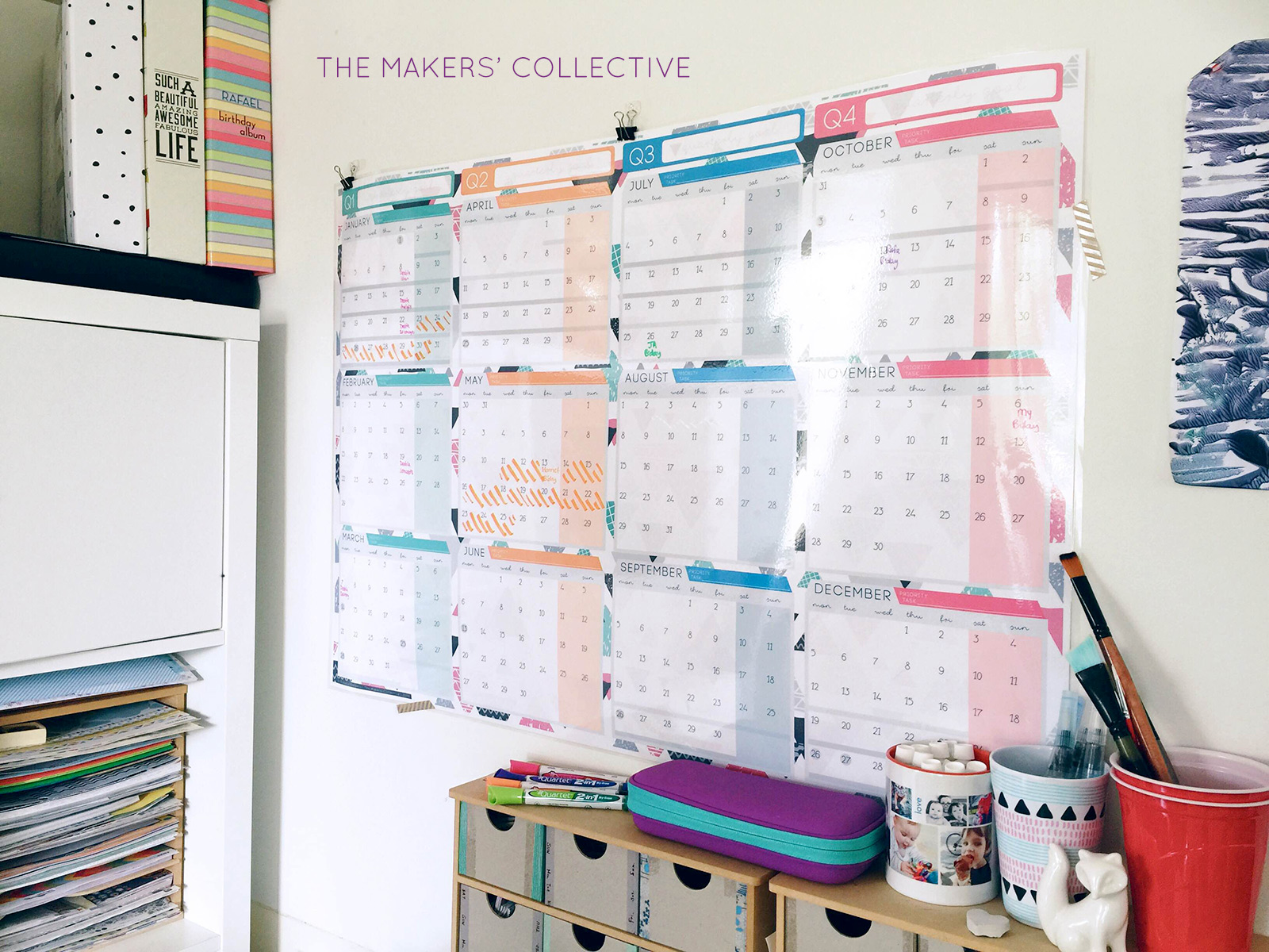 wall planner 2016