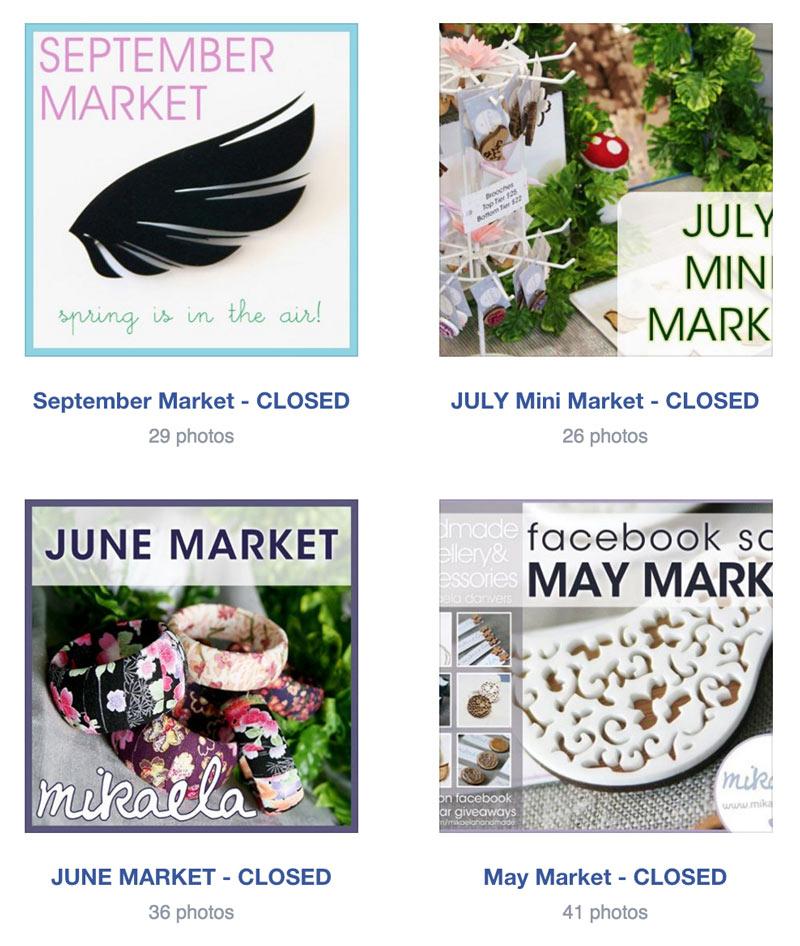 online market facebook albums